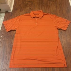 Men's Nike Fit Dry Golf Striped Polo Shirt